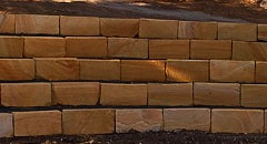 Easy Maintenance Kimberley Sandstone Logs